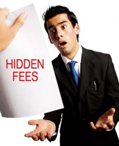 FairFX hidden fees
