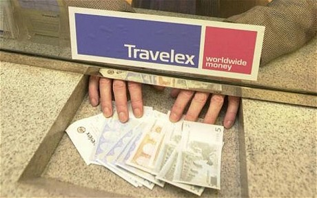 Travelex money exchange