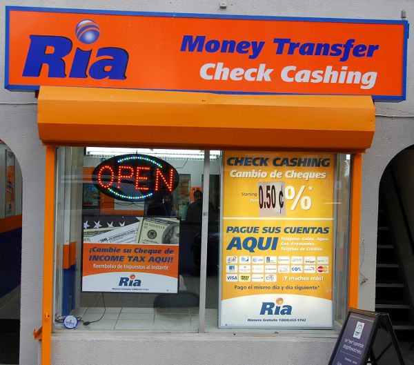 RIA Money Transfer Office