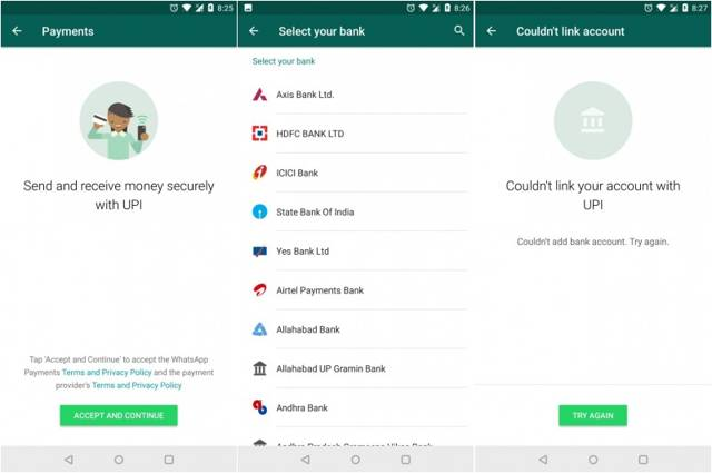 WhatsApp releases online payments feature